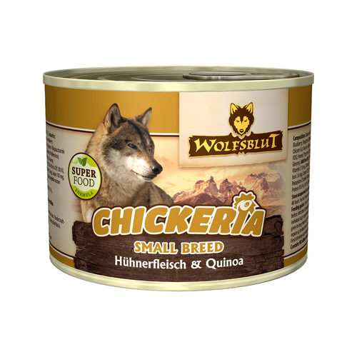 Wolfsblut Chickeria Small Breed Wet - Hühnerfilet & Quinoa