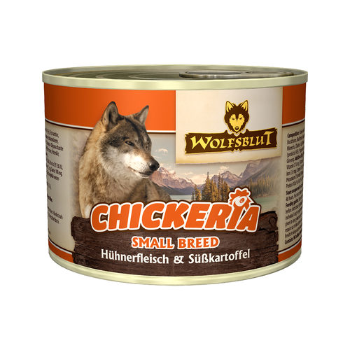 Wolfsblut Chickeria Small Breed Wet - Hühnerfilet & Süßkartoffel
