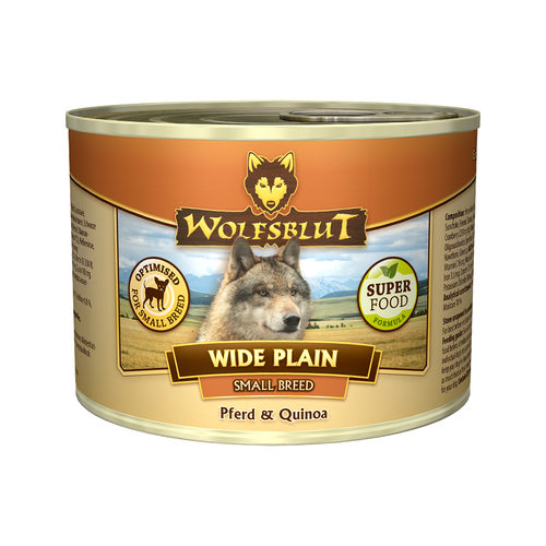 Wolfsblut Wide Plain Quinoa Small Breed Wet