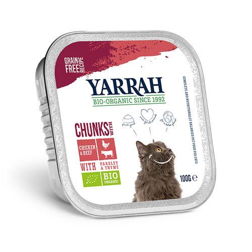 Yarrah - Chunks Kat Kuipje met Rund Bio
