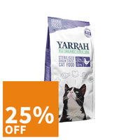 Yarrah - Dry Food Sterilised Cat Grain-Free Organic