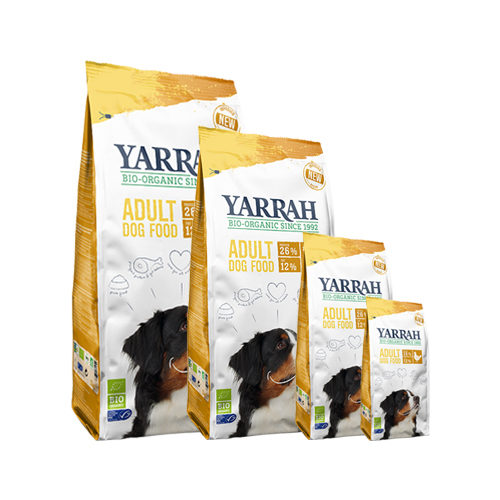 Yarrah - Dry Dog Food with Chicken Bio