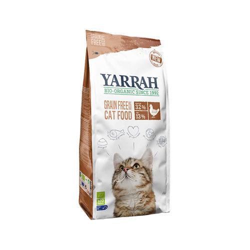Yarrah - Droogvoer Kat Graanvrij Bio