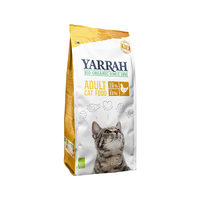 Yarrah - Trockenfutter Huhn für Katzen Bio