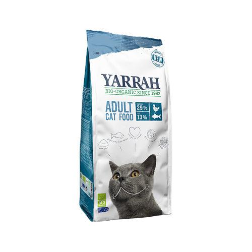 Yarrah - Droogvoer Kat met Vis Bio