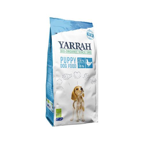 Yarrah - Trockenfutter für Welpen mit Huhn Bio