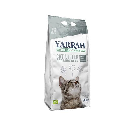 Yarrah - Klump-Katzenstreu aus Biolehm