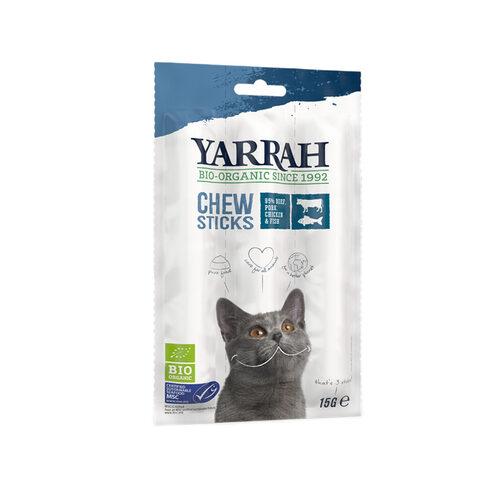 Yarrah - Fish Chew Stick Cat Snacks Bio