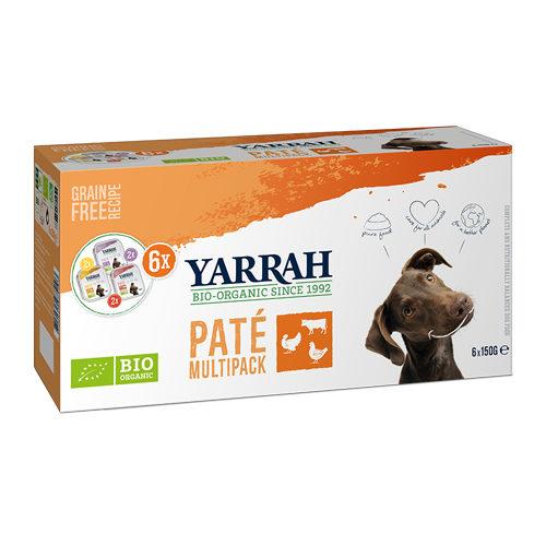 Yarrah Multipack Bio Paté für Hunde