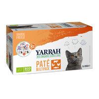 Yarrah - Pâtées Multi Pack Bio pour Chat