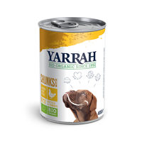 Yarrah - Bröckchen Huhn mit Brennnessel & Tomate in Soße Bio