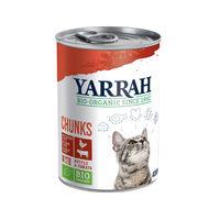 Yarrah - Bröckchen in Soße Huhn & Rind mit Brennnessel & Tomate Bio