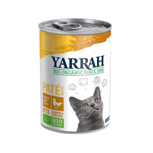 Yarrah - Natvoer Kat Blik met Kip Bio