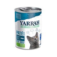 Yarrah - Pâtée en Boîte Bio au Poisson pour Chat