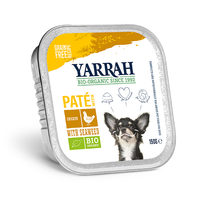 Yarrah - Hundefutter Paté Huhn mit Alge Bio