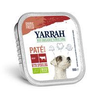Yarrah - Natvoer Kuipje Paté met Rund en Kip