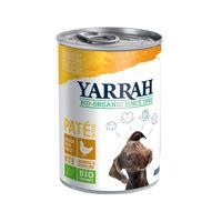 Yarrah - Hundefutter Paté Huhn mit Spirulina und Meeresalgen in Soße Bio