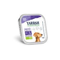 Yarrah - Pâtée en Barquette Bio au Poulet & Dinde pour Chien