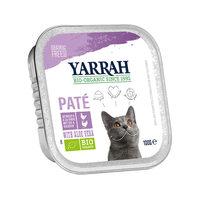 Yarrah - Pâtée en Barquette Bio au Poulet & Dinde pour Chat