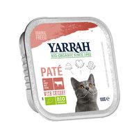 Yarrah - Paté Cat Food with Beef Bio