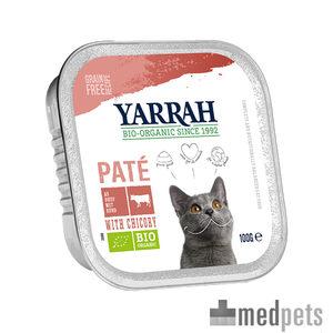 Product afbeelding van Yarrah - Paté Kat Kuipje met Rund Bio