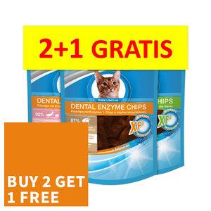 ACTIE Bogadent Dental Enzyme Chips (mix) - Kat 2x 50 gr + 50 gr gratis