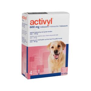 Activyl Spot-on Hond – L (20-40 kg) – 4 pipetten