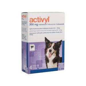 Activyl Spot-on Hond – M (10-20 kg) – 4 pipetten