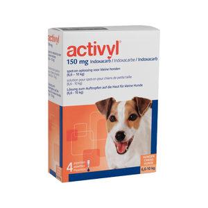 Activyl Spot-on Hond – S (6,6-10 kg) – 4 pipetten