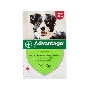 Advantage 250 hond 10-25kg - 4 x 2.5 ml