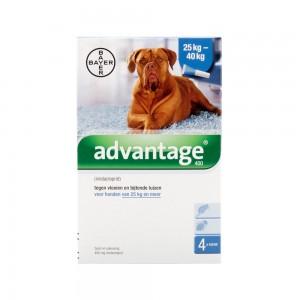 Advantage 400 hond 25-40kg - 4 x 4 ml