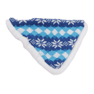 AFP Snow World Winter Bandana - Blauw