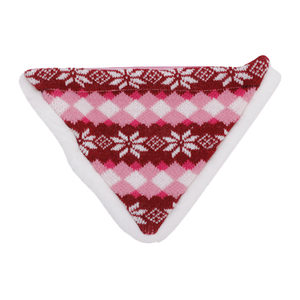 AFP Snow World Winter Bandana - Rood