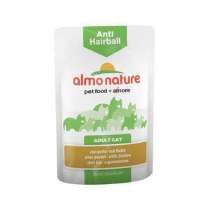 Almo Nature - Anti-Hairball - Natvoer - 30 x 70 gram - Kip