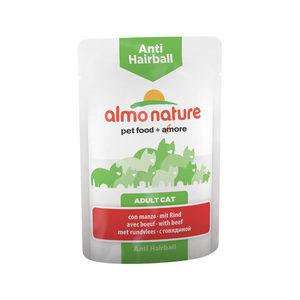 Almo Nature - Anti-Hairball - Natvoer - 30 x 70 gram - Rund