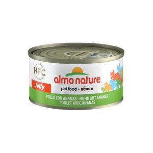Almo Nature - Cat - HFC 70 Jelly - Kip & Ananas - 24 x 70 gram