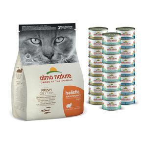 Almo Nature - Cat - Maandpakket Vis