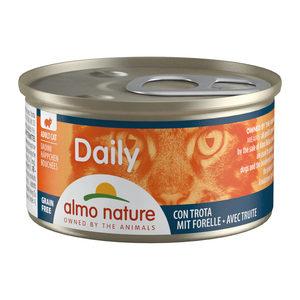 Almo Nature - Daily Menu Blokjes - Forel - 24 x 85 gram