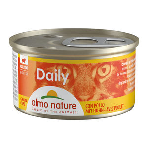 Almo Nature - Daily Menu Mousse - Kip - 24 x 85 gram