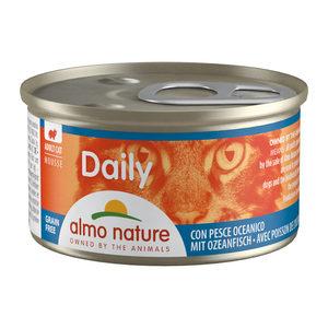 Almo Nature - Daily Menu Mousse - Oceaanvis - 24 x 85 gram