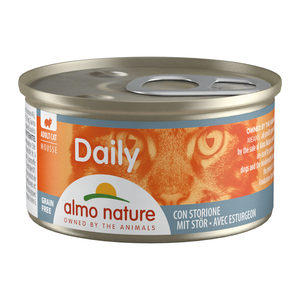 Almo Nature - Daily Menu Mousse - Steur - 24 x 85 gram