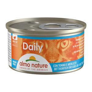 Almo Nature - Daily Menu Mousse - Tonijn & Kabeljauw - 24 x 85 gram