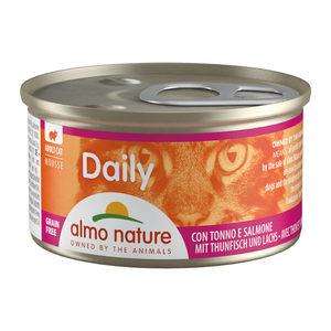 Almo Nature - Daily Menu Mousse - Tonijn & Zalm - 24 x 85 gram