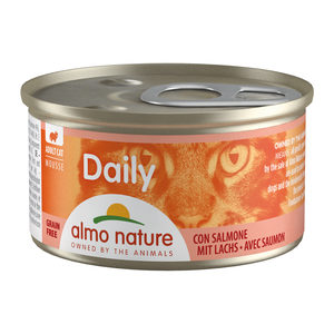 Almo Nature - Daily Menu Mousse - Zalm - 24 x 85 gram