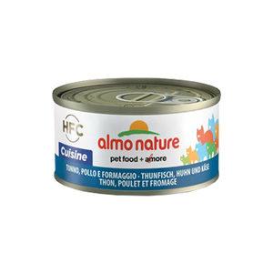 Almo Nature - HFC 70 Cuisine - Tonijn, Kip en Kaas - 24 x 70 gram