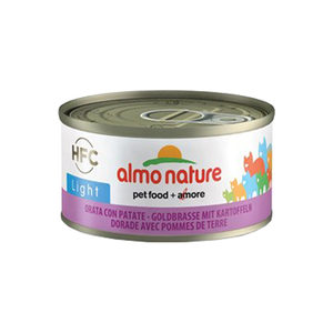 Almo Nature - HFC 70 Light - Zeebrasem & Aardappelen - 24 x 70 gram