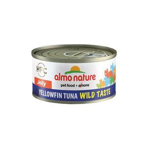 Almo Nature - HFC 70 Wild Taste - Jelly - Geelvin Tonijn - 24 x 70 gram