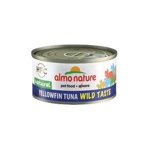 Almo Nature - HFC 70 Wild Taste - Natural - Geelvin Tonijn - 24 x 70 gram