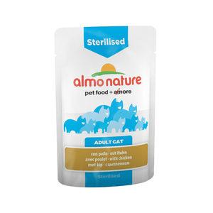 Almo Nature - Sterilised - Natvoer - 30 x 70 gram - Kip