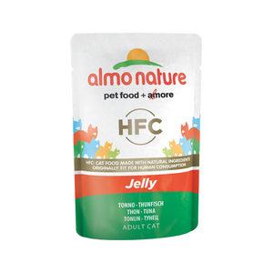 Almo Nature HFC - Jelly Tonijn - 24 x 55 gr